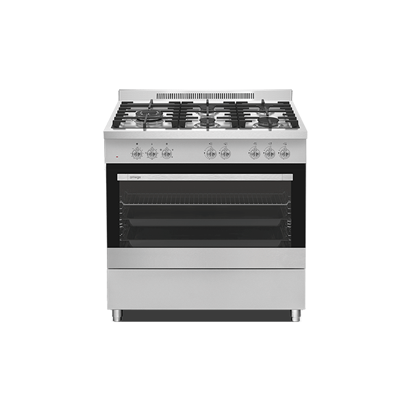 90cm 5 Function Free Standing Oven