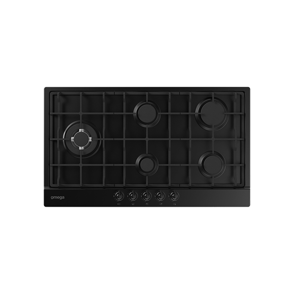 90cm 5 Burner Gas Cooktop