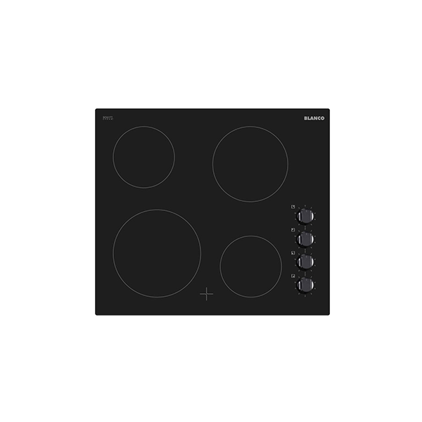 60cm 4 Element Ceramic Cooktop