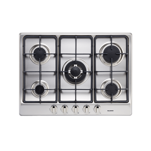 70cm 5 Burner Gas Cooktop